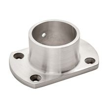 1-1/2in Dia | Satin Stainless Steel Finish | Flange