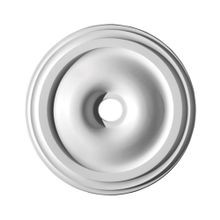 Focal Point | 30-1/4in | Primed White Polyurethane | Smooth Ceiling Medallion