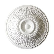 23-5/8in Dia | Primed White Polyurethane | Decorative Ceiling Medallion | Style DEM-555
