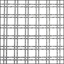 3ft x 4ft Intercrimp | Round Wire | Stainless Steel Wire Mesh Sheet