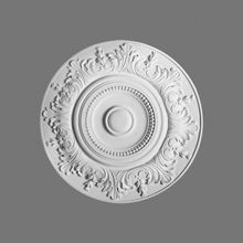 Orac Decor | High Density Polyurethane Ceiling Medallion | Primed White | 18-1/2in Dia