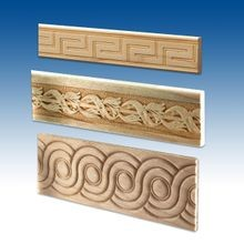 Flat Wood Accent Mouldings
