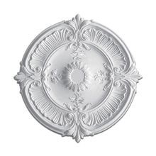 30-1/2in Dia | Primed White Polyurethane | Decorative Ceiling Medallion