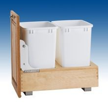 Bottom Mount Wood Pull Out Waste Series