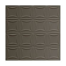 2' Square GunmetalLay In Premium Decorative Stamped Steel Ceiling Panel