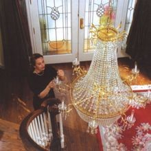 Chandelier Light Lift