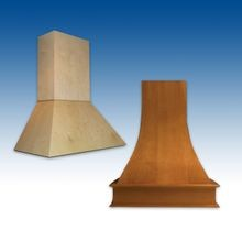 Wood Range Hoods (Pages M15-M16)