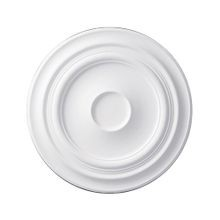 24-3/8in | Primed White Polyurethane | Smooth Ceiling Medallion