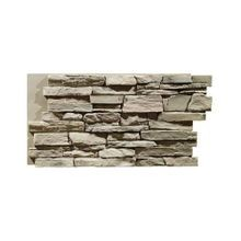 High Density Polyurethane Ledgestone Interlocking Faux Stone Panel