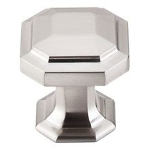 Chareau Knob Brushed Satin Nickel
