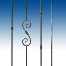 Classic Collection: Round Hand Forged Balusters
