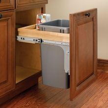 Top Mount Wood Pull-Out Waste Series