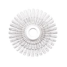 31-1/2in Dia | Primed White Polyurethane | Decorative Ceiling Medallion | Style DEM-578