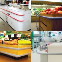 Impact Protection for Fixtures and Checkout Counters