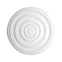 29-1/8in | Primed White Polyurethane | Smooth Ceiling Medallion