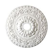 23-5/8in Dia | Primed White Polyurethane | Decorative Ceiling Medallion | Style DEM-558