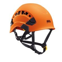 VERTEX VENTED HELMET - ORANGE