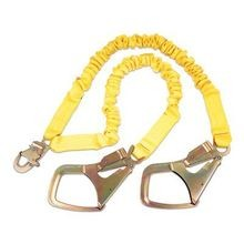 SHOCKWAVE2 SHOCK ABSORBING LANYARD WITH SAFLOK HOOKS