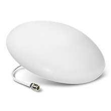 Ultra Thin Antenna™ Wide Band 50 ohm Antenna - 3.4 to 7dBi (includes mounting kit, 698 -2700 MHz)