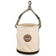 CANVAS BUCKET WITH SWIVEL SNAP HOOK