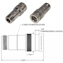 Type N Female Compression Connector for LMR-400 Cable