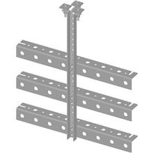 TRAPEZE KIT, TRIPLE TEE, 12 IN. WIDE, 3 RUNGS