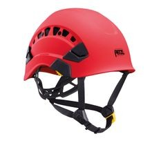 VERTEX VENTED HELMET - RED