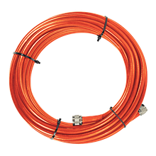 1000' SC400 Ultra Low Loss Coax Plenum Fire Rated Cable - Orange