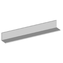 GALVANIZED ANGLE 3 in. X 3 in. X 1/4 in. X 20 ft.