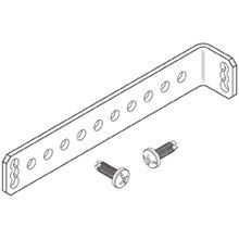 L-BRACKETS FOR 19 IN. RACKS, 6 IN LONG