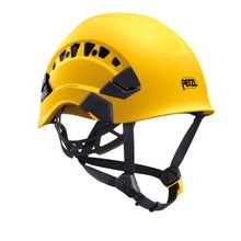 VERTEX VENTED HELMET - YELLOW