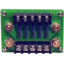 POWER DISTRIBUTION BLOCK, 5 ATC/ATO FUSE POSITIONS, UP TO 20A PER POSITION AND 75A PER BLOCK