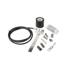UNIVERSAL GROUNDING KIT FOR HELIAX® 1/2 IN. TO 1-5/8 IN. CORRUGATED AND SMOOTHWALL COAXIAL CABLE, ELLIPTICAL WAVEGUIDE 63 THROUGH 180 AND FIBERFEED HYBRID CABLES
