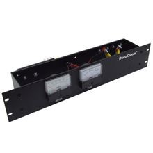 DISTRIBUTION PANEL, RACK MOUNT, 100A MAX, 30VDC MAX, FUSE ATC/ATO 8 POSITION