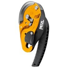 I'D® S SELF-BRAKING DESCENDER WITH ANTI-PANIC FUNCTION FOR WORK AT HEIGHT AND ROPE ACCESS WORK - YELLOW