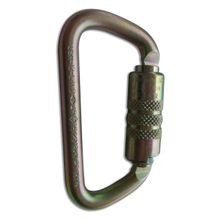 STEEL CARABINER WITH 1/2 IN. GATE