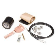 Standard Grounding Kit for 1-5/8 in corrugated coaxial cable and elliptical waveguide 52 and 63