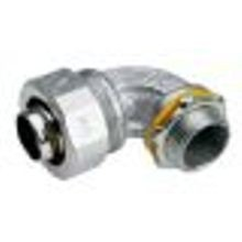 2 in. Malleable Iron LiquidTight 90° Angle Connector, Non-Insulated