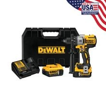 DEWALT 20V MAX XR LITHIUM BRUSHLESS 3-SPEED DRILL AND DRIVER KIT