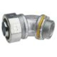 1 IN. Mallable Iron LiquidTight 45° Angle Connector, Non- Insulated