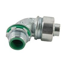 Liqua-Seal Liquidtight Connector, 90 deg, 2-1/2