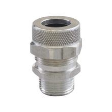 Cord Grip less bushing, alum, 1/2