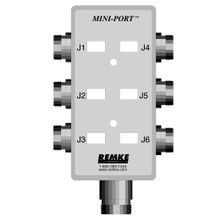 Mini-Link Dist Box, 6 Outlet, connector feed