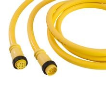 Mini-Link Cable Assembly, PVC, Male/Female, 12 pole, 12', 16 AWG