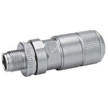M12X1 STRAIGHT CONNECTOR CABLE PLUG