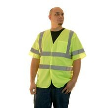 Saf-T-Gard<sup>®</sup> Reflect-A-Gard<sup>®</sup> RG-4000 Class 3 Hi-Viz Safety Vest