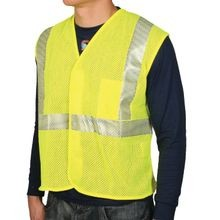 National Safety Apparel<sup>®</sup> V00HA-2V FR Class 2 Hi-Viz Mesh Vests