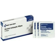 First Aid Only<sup>®</sup> Alcohol Wipes