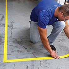 Accuform<sup>®</sup> Tough-Mark™ Heavy-Duty Floor Marking Strips