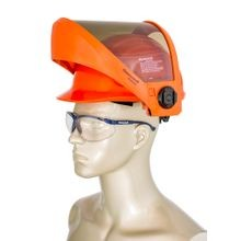 Honeywell Salisbury AS1200HAT-SPL Weight Balancing Arc Flash Faceshield with PrismShield™ and North Zone Hard Hat